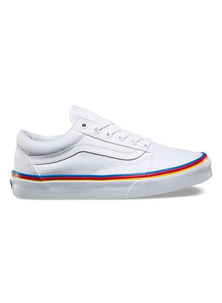 Vans Vans I Rainbow Fox Old Skool I White