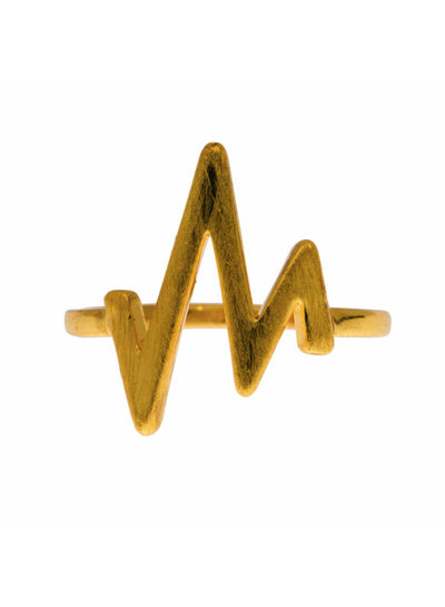 timi of sweden timi of Sweden I Heartbeat ring I Gold