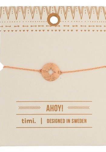 timi of Sweden I Compass bracelet I Gold