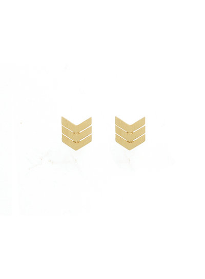 timi of sweden timi of Sweden I Arrow tail earrings I Gold
