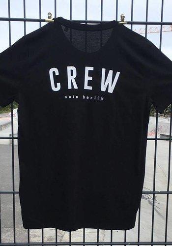 nais berlin I Crew Shirt I Schwarz