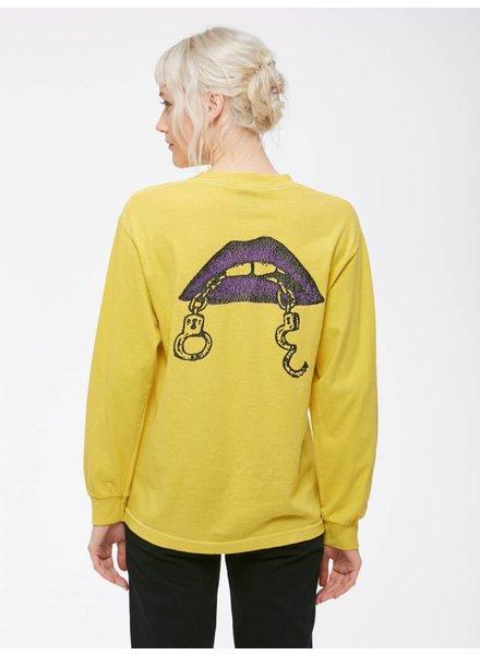 Obey Obey I Love Cuffs I Yellow