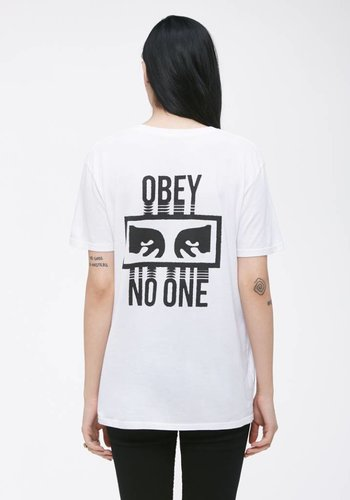 Obey I No One I Weiß