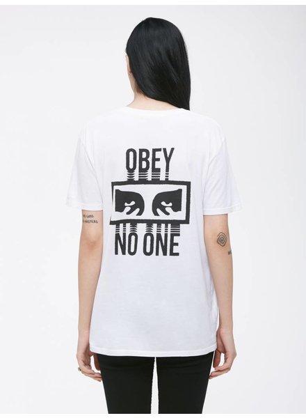 Obey Obey I No One I White