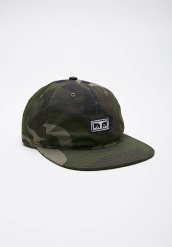 Obey I Overthrow 6 Panel Snapback I Camoflage