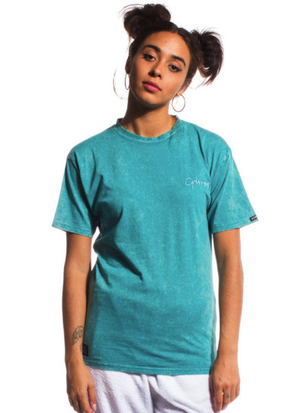 GRMY Wear Grimey I Natural Washed Tee I Green