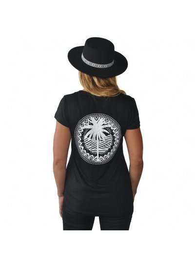 Zealous Zealous I Tropical Gypsy T-Shirt I Schwarz