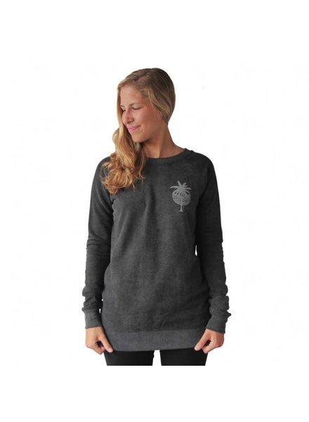 Zealous Zealous I Tropical Gypsy Sweatshirt I Grau