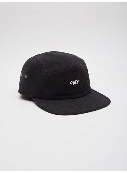 Obey Obey I Jumble Bar 5 Panel Hat I Black