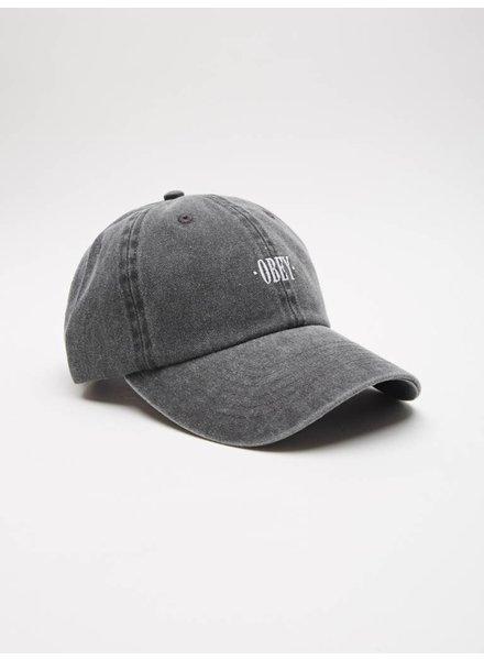 Obey Obey I Cress 6 Panel Hat I Black