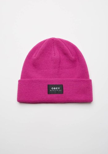Obey I Vernon Beanie II I Pink