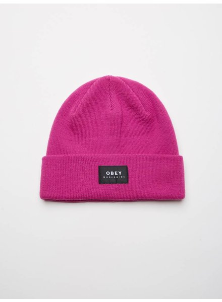 Obey Obey I Vernon Beanie II I Pink