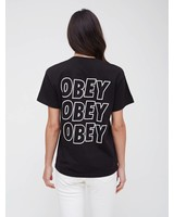Obey Obey I Obey Jumble Lo- Fi I Schwarz