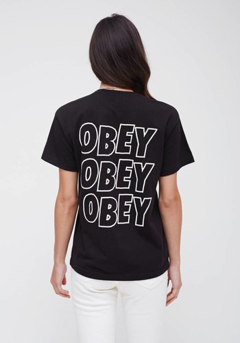 Obey I Obey Jumble Lo- Fi I Black