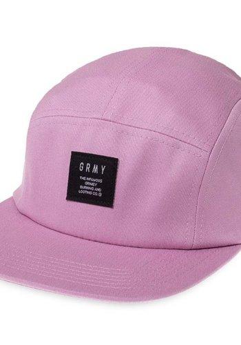 Grimey I Echoes 5 Panel Cap I Purple