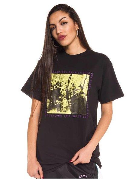 GRMY Wear Grimey I We Know T-Shirt I Black