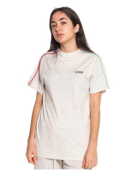 GRMY Wear Grimey I Mangusta V8 Piping T-Shirt I Grey