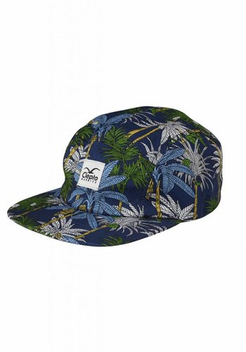 Cleptomanicx I Palms 5 Panel Cap I Multicolored