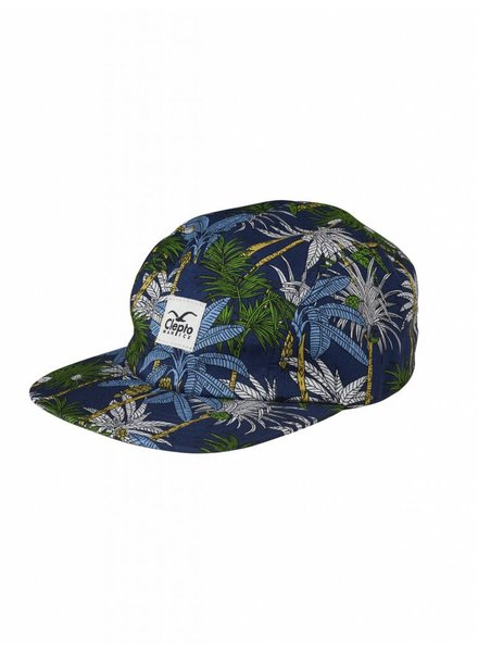 Clepto manicx Cleptomanicx I Palms 5 Panel Cap I Multicolored