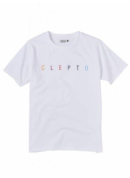 Clepto manicx Cleptomanicx I Clepto T-Shirt I White