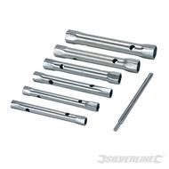 Silverline 6-delige metrische pijpsleutel set