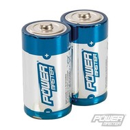 Silverline Type C super alkaline batterij LR14, 2 pk.