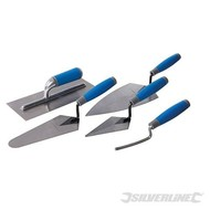 Silverline 5-delige soft-grip pleistertroffel set