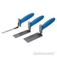 Silverline 3-delige soft-grip pleistertroffel set Hoogwaardig