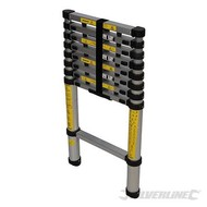 Silverline Telescopische ladder Duurzame, 9-sport,
