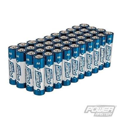 AA super alkaline batterij LR6, 40 pk.