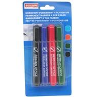 Hofftech Benson Mark Bürofarbe Pin 4 Stück Permanent Benzin Stift