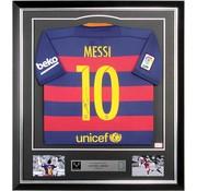 Lionel Messi autographed FC Barcelona jersey