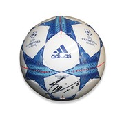 Lionel Messi Autographed UEFA Champions League 2015/16 Football