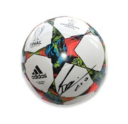 Lionel Messi Autographed UEFA Champions League 2014/15 Football