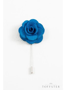 Toffster Boutonniere Blau Blume