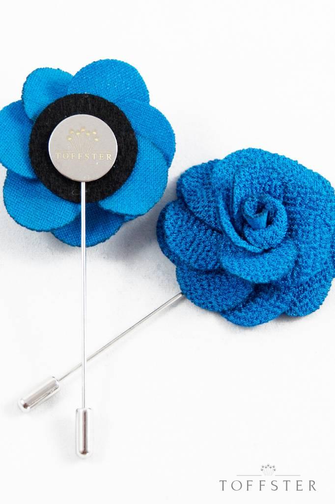 Toffster Boutonniere blue