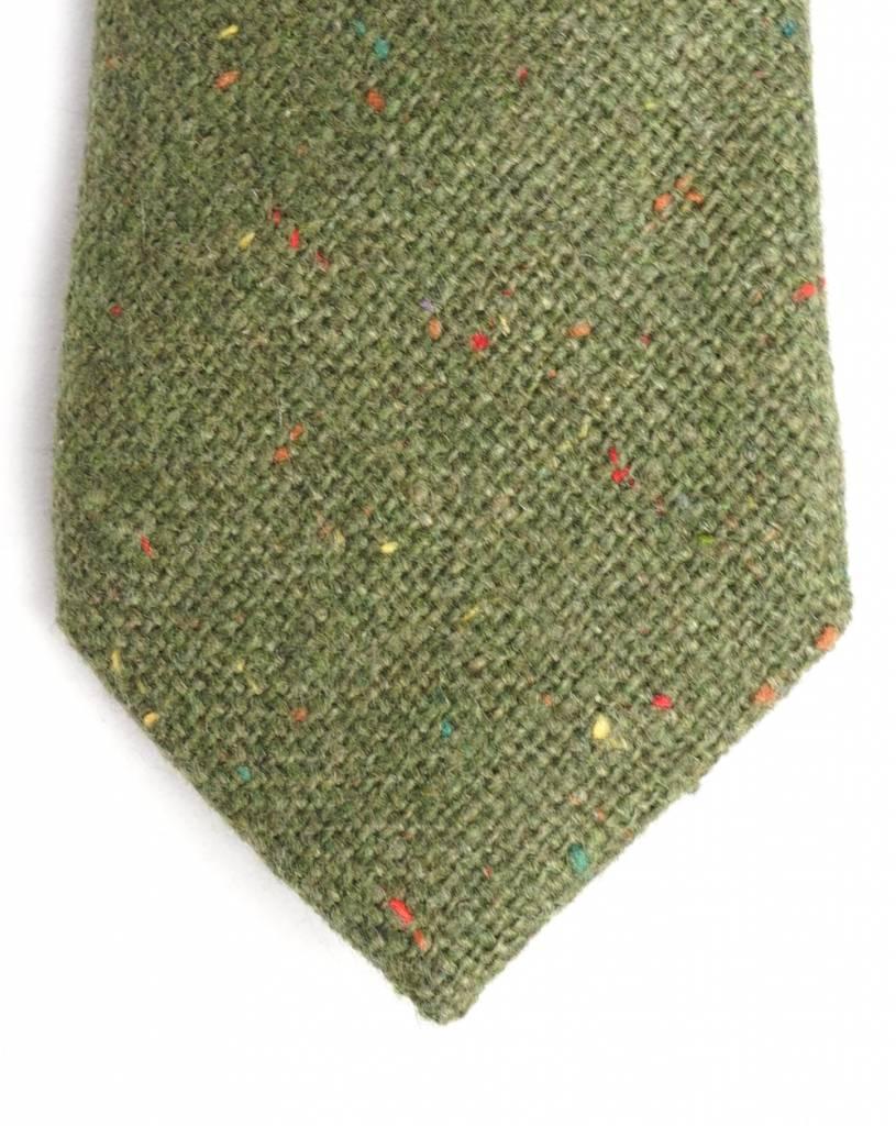 Toffster grüne Wollkrawatte