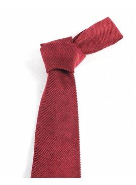 Toffster Tie Burgundy Corduroy