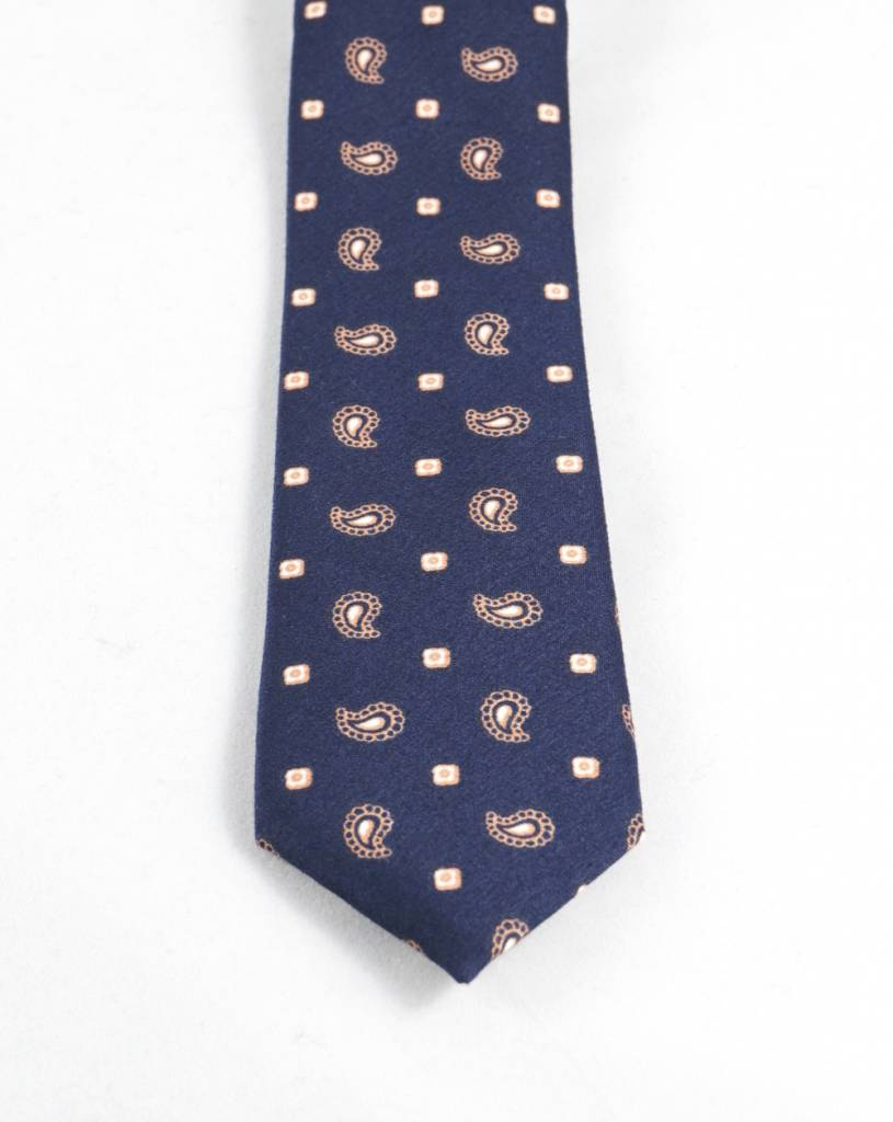 Toffster Cotton Tie Paisley