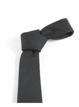 Toffster Krawatte Schwarz Baumwolle