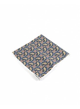 Toffster Pocket Square cotton paisley