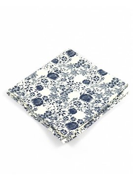 Toffster Pocket Square White Floral