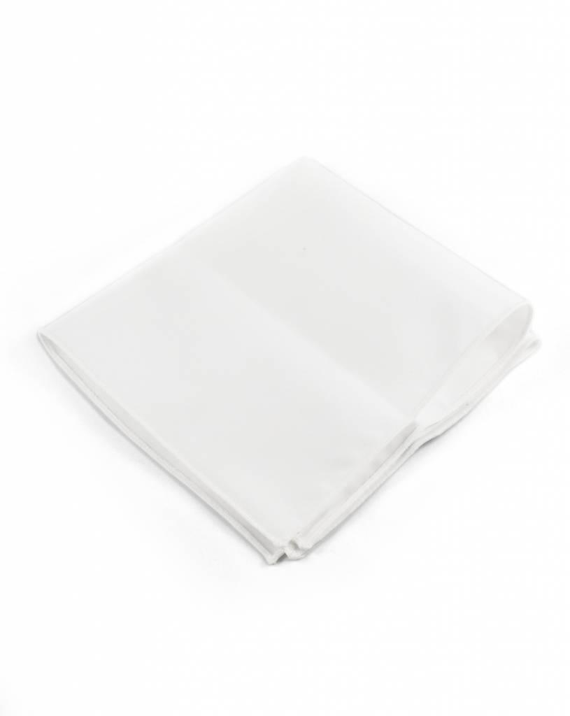 Toffster Pocket Square white