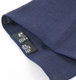 Toffster Pocket Square linen blue