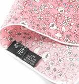 Toffster Einstecktuch   Baumwolle   Rosé   Floral