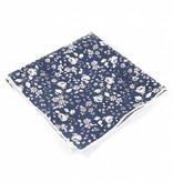 Toffster Pocket Square cotton blue
