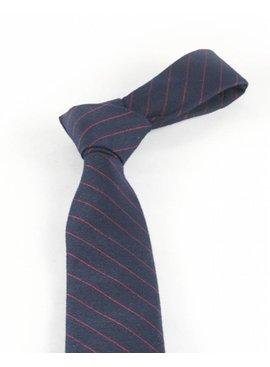 Toffster Krawatte Blau Streifen