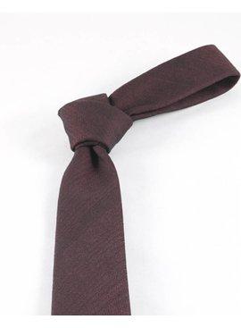 Toffster Krawatte Bordeaux Rot