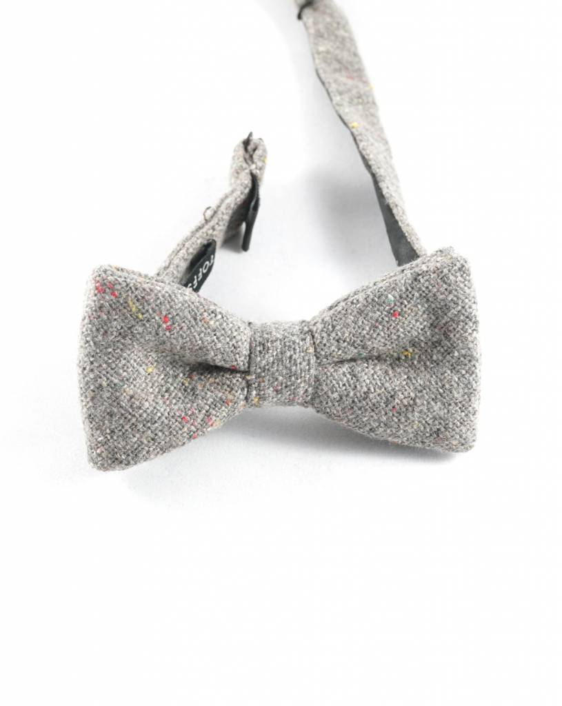 Toffster Bow tie | Wool | Grey