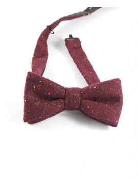 Toffster Bow tie burgundy